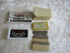 Vintage Wilkinson-Schick-Treet-American Safety - Razor Blades