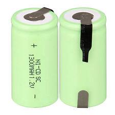 GB TOP VENTAS VERDE 1 ud. 1.2v 1300mah SUBWOOFER c SC Ni-CD NiCd batería