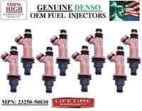 Denso Fuel Injectors Set for 1998-2000 Lexus LS400 SC400 4.0L V8 98 99 1999 4.0