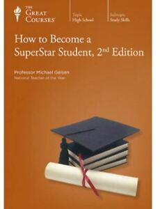 How to Become a SuperStar Student, 2nd Edition Guidebook & DVD The Great Courses