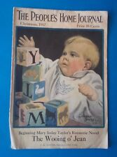 THE PEOPLE'S HOME JOURNAL CHRISTMAS 1917 ~ACCEPTABLE COLLECTOR'S CONDTION~