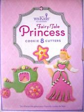 Williams Sonoma Fairy-tale Princess Cookie Cutters Set of 8