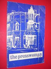 THE PRESSWOMAN. WOMAN'S PRESS CLUB OF LONDON. MAGAZINE. MAY 1966 no.106