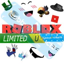 🔥 Rare Roblox Clean Robux Robuxs Limiteds Limited 💸 [Read Description]