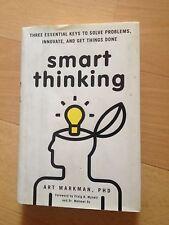 ART MARKMAN, SMART THINKING. HARDCOVER W/JACKET. 9780399537226
