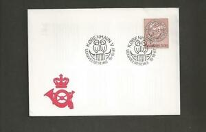 DENMARK -125th Anniversary of the Clerical Association for the Home Mission-FDC