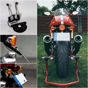 Ducati Sport Classic 1000 s GT1000 license plate bracket LED lightning, EU legal