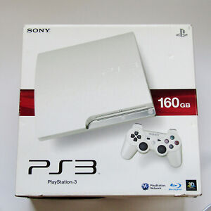 SONY PS3 PlayStation 3 160GB CECH-2500A LW White Game console Tested Boxed JAPAN