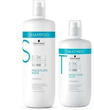 Schwarzkopf BC Bonacure Moisture Kick Shampoo 1000mL & Treatment 750ml Duo