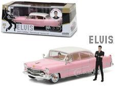 1955 PINK CADILLAC SERIES 60 WITH ELVIS PRESLEY FIGURINE 1/43 GREENLIGHT 86436