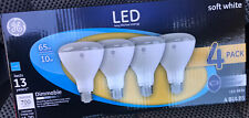 General Electric GE 4pk 10W Equivalent 65W BR30 LED Floodlight Bulb Soft White