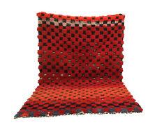 Moroccan vintage rug 4' x 6' azilal Berber runner rug oriental rug Morocco rug