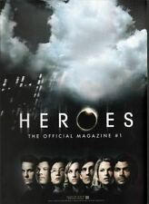 HEROES the official magazine #1 PX variant 100 page TITAN 2008 NBC heroes reborn