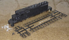 ATHEARN UNDECORATED SD40-2 PIN TYPE SHELL W/HANDRAILS & DETAIL NEW