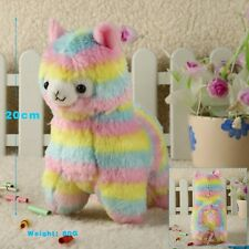 PELUCHE ALPACA RAINBOW 20 CM BABY PLUSH DOLL COSPLAY ANIME MANGA LAMA CUTE #1