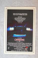 Christine Lobby Card Movie Poster
