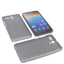 Funda para Lenovo A616 Funda protectora de móvil TPU GOMA FUNDA GRIS