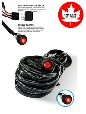 Liteway LED Light Bar 200W Wiring Harness Kit 14V/40A Relay ON/OFF Waterproof To