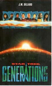 J.M. Dillard - Star Trek Generations - Fleuve Noir