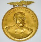 Spanish American War SAW Admiral Dewey Large Eagle Badge #40Original Period Items - 10952