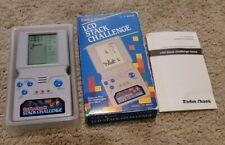 Radio Shack Stack Challenge Vintage Electronic Handheld Travel Game