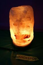 WBM Salt Lamp Therapeutic Light Energy Orange Glow
