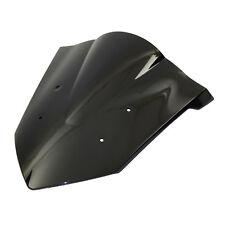 Dark Smoke D/ Bubble Windscreen Windshield For 14-18 HONDA CBR 650 F FA CBR650F