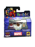 Marvel Minimates Baron Zemo I & Nova Corps Centurion Series 50 Figures New