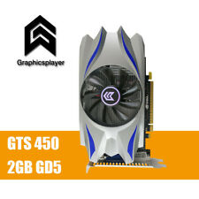For PC PCI-E 2GB DDR5 128Bit GTS450 Graphics Card fan Placa de Video carte grap