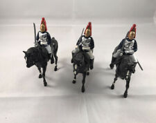 Britains Mounted British Calvary Horse Guards Toy Soldiers X 3