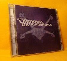 CD El-P Presents Cannibal Ox Cannibal Oxtrumentals 15TR 2002 Hip Hop