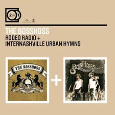 2CD*BOSSHOSS**RODEO RADIO / INTERNASHVILLE URBAN HYMNS**32 HITS!*NAGELNEU & OVP!