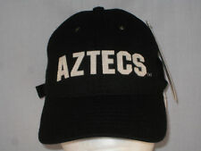 SAN DIEGO AZTECS  - FOOTBALL  HAT  -  BLACK WOOL BLEND - MADE IN USA