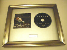 PERSONALLY SIGNED/AUTOGRAPHED DEVLIN - A MOVING PICTURE FRAMED PRESENTATION