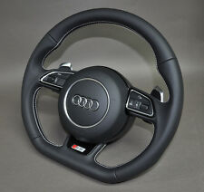 Original Audi S5, S4, A5 Steering Wheel with Big Shifting Paddles DSG + Airbag