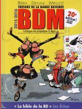 BDM Trésors de la Bande Dessinée Argus BDM 2015-2016