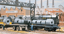 Walthers Cornerstone Steel Coils X 12 933-1499 HOscale (suit OO Also)
