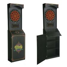 Arcade Electronic Dart Board 24 Game w 132 Options and 5 Cricket Games 8 Players