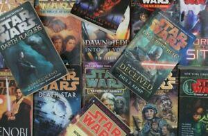 STAR WARS Saga Paperback Books: 10 Lot Mystery Box Legends / New Canon