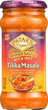 Simmer Sauce - Hot And Spicy - Tikka Masala - Hot - 12.3 Oz (6 - 12.3 Fz)