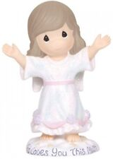 Precious Moments Angel With Arms Raised Resin Figurine New In Box Angels Love