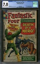 Fantastic Four #32 CGC 7.0 (OW-W) Letter from George R.R. Martin