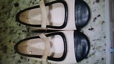 zara leather capped toe maryjanes