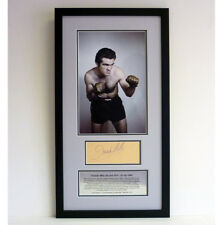 Freddie Mills – Signed photo presentation