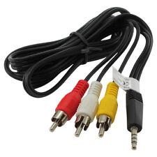 Vídeo estéreo cable para Sony dcr-sx15e/dcr-sx21e Av TV Cable