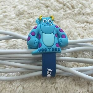 Silicon Cable Wire Earphone Headphone Cable Tie Cord Holder Cartoon Organizer 2