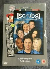 Scrubs - Series 1-9 - Complete (DVD, 2011, 31-Disc Set, Box Set)
