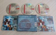 RARE BOX 3 CD ALBUM COMPILATION LES PLUS GRANDS MOMENTS DU JAZZ 57 TITRES 1993