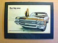 "1970 Chevrolet IImpala Caprice 396/427/350/V8 ""Ready to Display"" car ad"