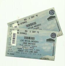 Jona Brothers tickets Wembley Arena 2009